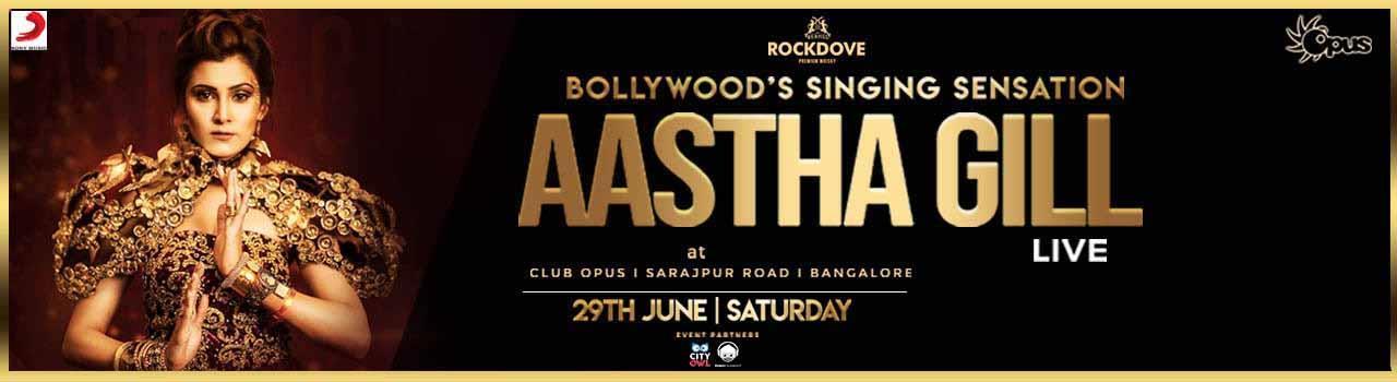Aastha Gill Live In Bangalore - Bengaluru | Ticket Ninja